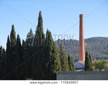Tall Brick Works Chimney