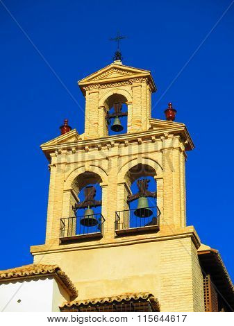 Belfry On Church In Antequera