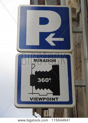 Traffic Signs In Antequera