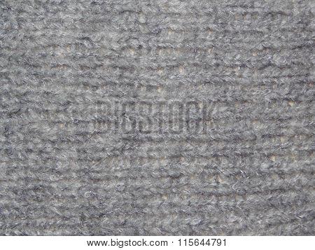 uffy knitted grey fabric