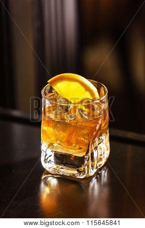 cocktail wiht orange