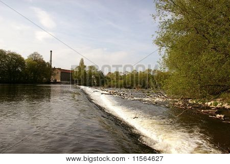River Fulda near Kassel, Germany