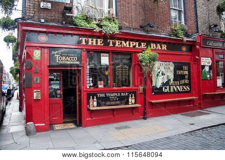 Temple Bar at Dublin