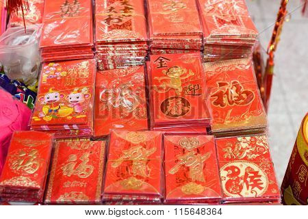 Red envelops