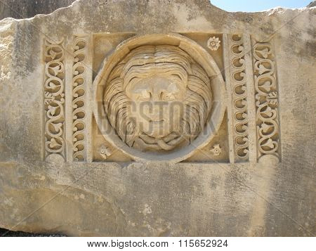 Greco-roman Amphitheatre In Gordes Demra