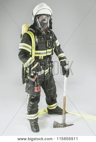 Professional German Fire Fighter