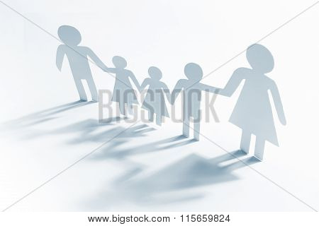 Single Mother With Four Children