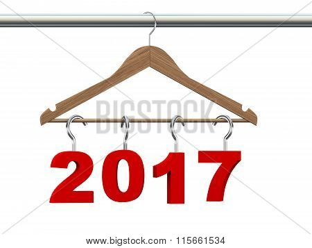 3D Wooden Cloth Hanger Year 2017