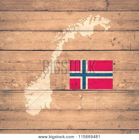 Map Of Norwey