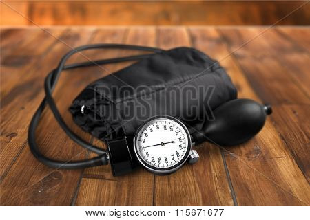 Blood Pressure Gauge.