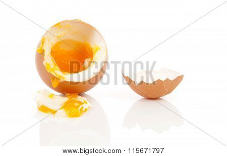 Boiled Egg Falling Down