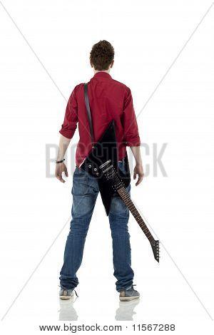 Back Of Musician