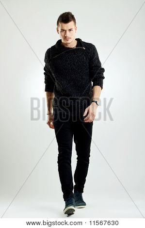 Walking Male Model