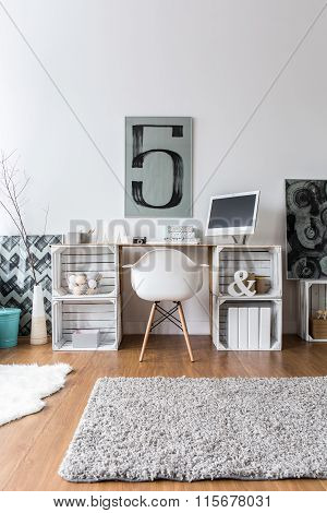 Creative Home Office Idea