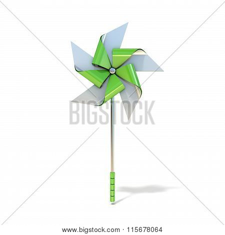 Pinwheel toy five sided. 3D