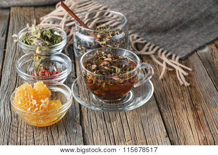 Organic Hot Tea As Prevention Of Cold