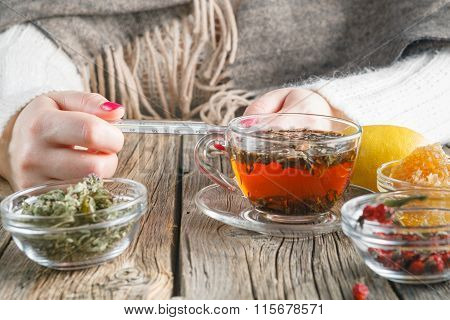 Hot Tea Against Fever