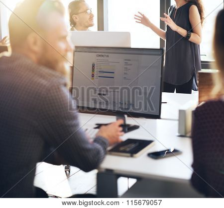 Customer Service Team Support Care Concept
