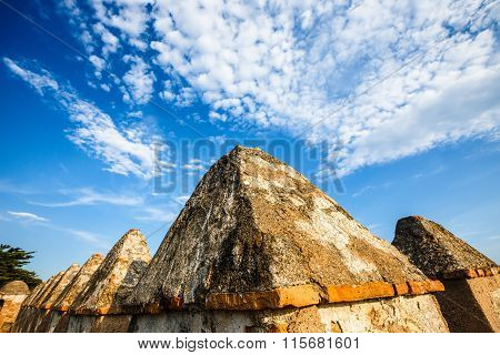 Walls of Castillo de Gibralfaro