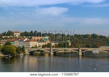 View Of Vltava River, Prague
