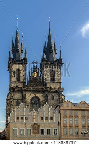 Church Of Our Lady Before Tyn, Prague