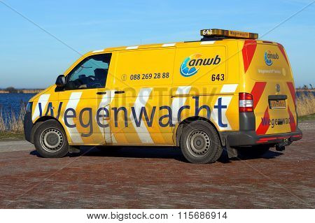 Dutch Roadside Assistance vehicle - ANWB Wegenwacht
