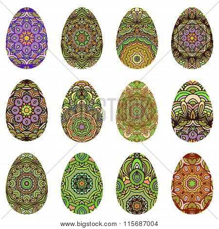 Easter Egg Design Set