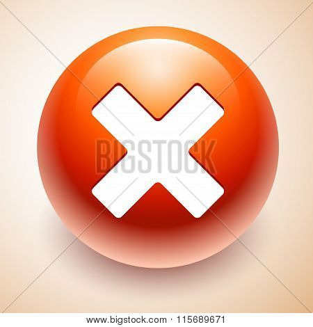 Denied Red Symbol Isolated
