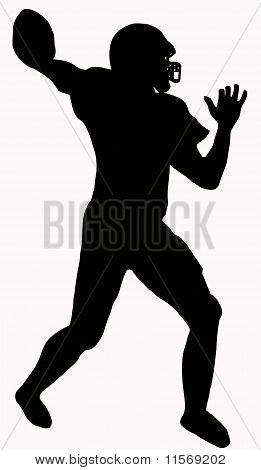 Sport Silhouette - American Football
