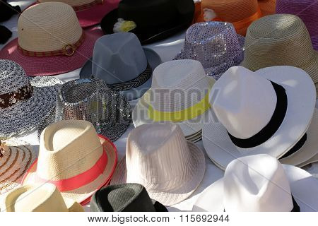 Hats Of Various Type