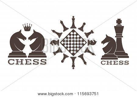 Chess. Emblem