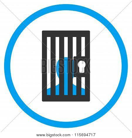Prison Circled Icon