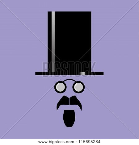 Top Hat and Goatee
