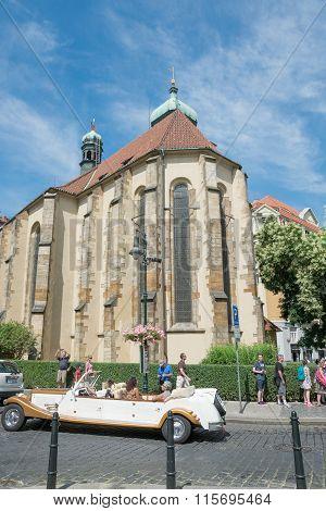 Synagogue In The Jewish Quarter - Prague