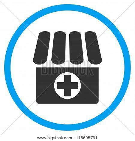 Drug Shop Circled Icon