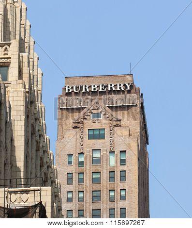 Burberry Tower In Manhattan