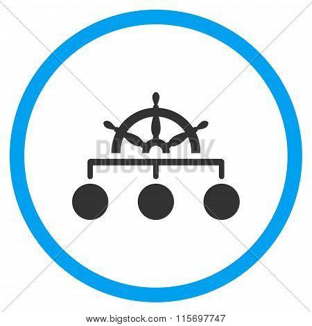 Management Circled Icon