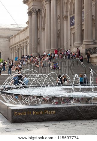 David H. Koch Plaza At New York City
