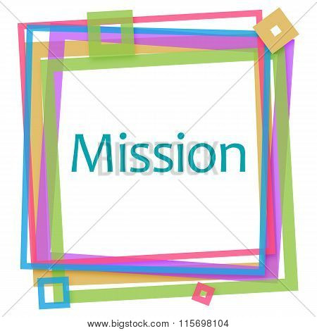 Mission Colorful Frame