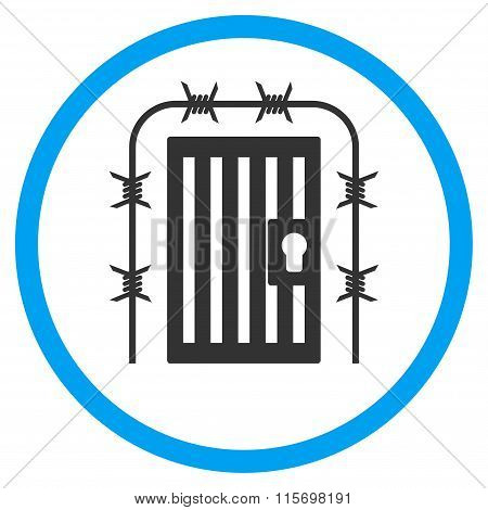 Prison Entrance Rounded Icon