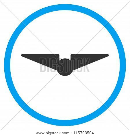 Aviation Rounded Icon