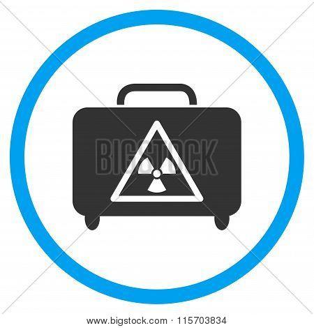Dangerous Luggage Rounded Icon