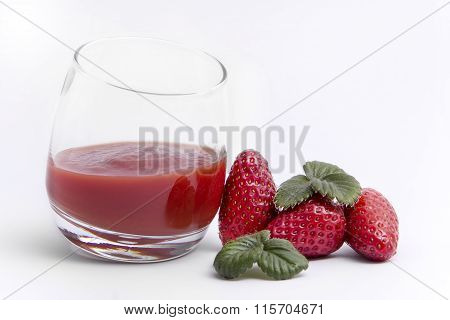 Strawberry Refreshment Drink