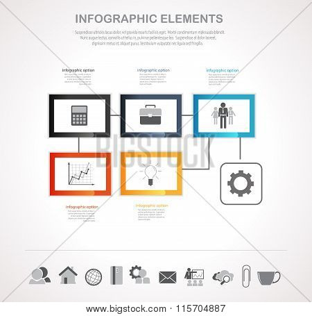 Infographics And Icons