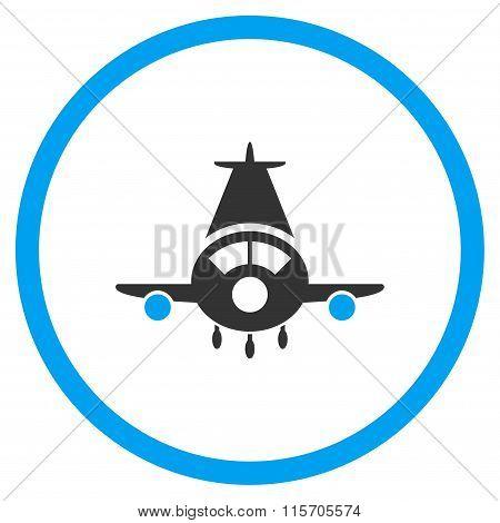 Cargo Plane Circled Icon