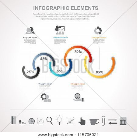 Infographics And Business Icons