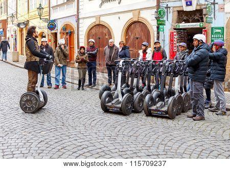 Prague. Segway tour.