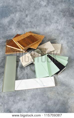 Flooring Countertop And Backsplash Samples