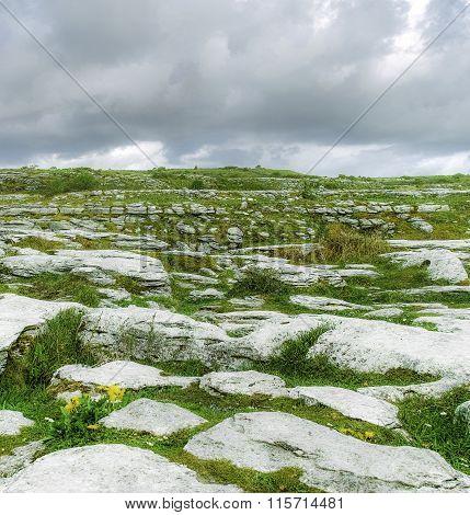 Rocky Burren Landscape