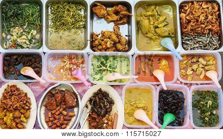 Delicious Malaysian home cooked dishes